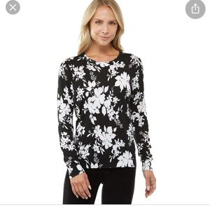 Michael Kors Black White Sweater